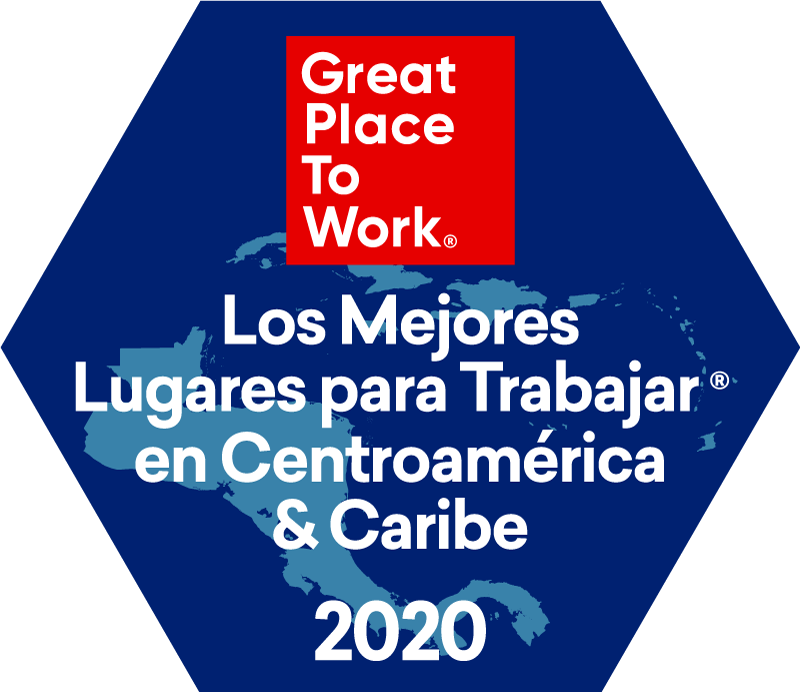 Great place to work award central america and caribe 2020