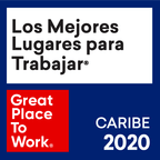 Great place to work award caribe 2020